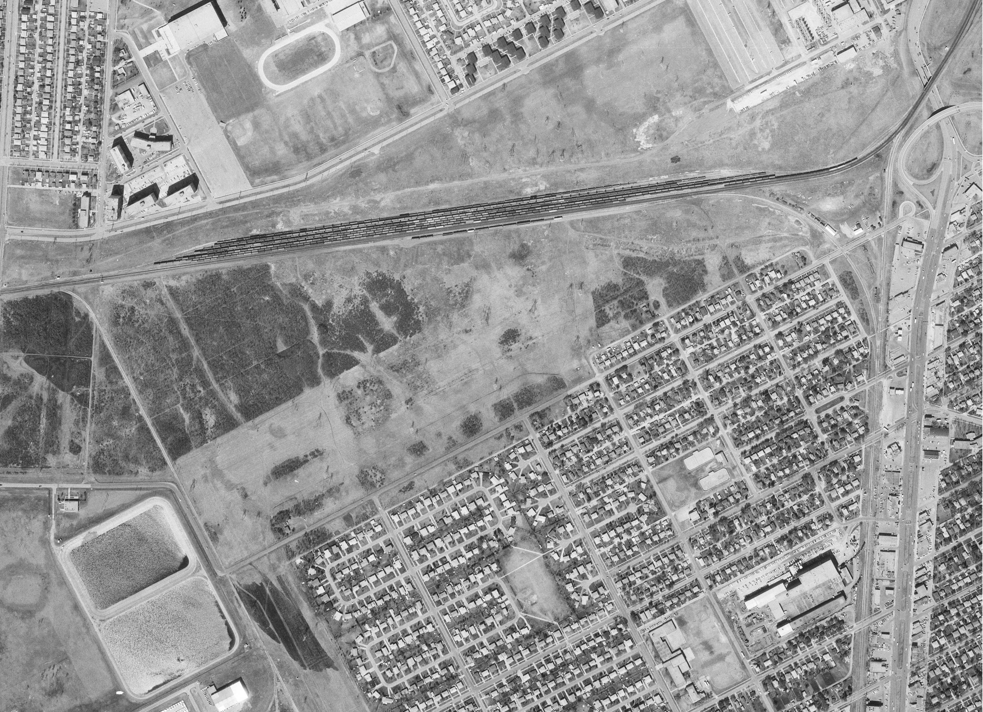 1977 Aerial Photo from National Earth Observation Data Framework, Govt. of Canada