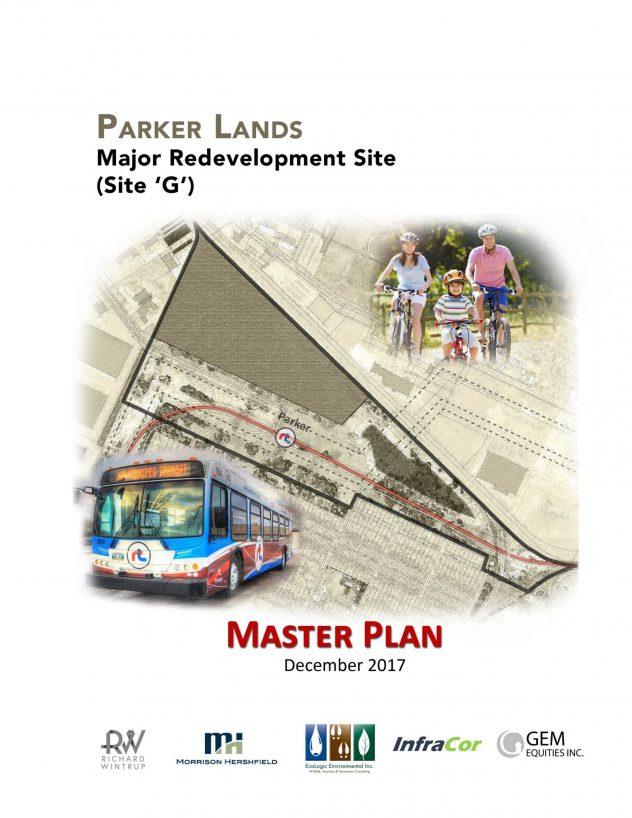 Parker Lands Major Redevelopment Site - Master Plan
