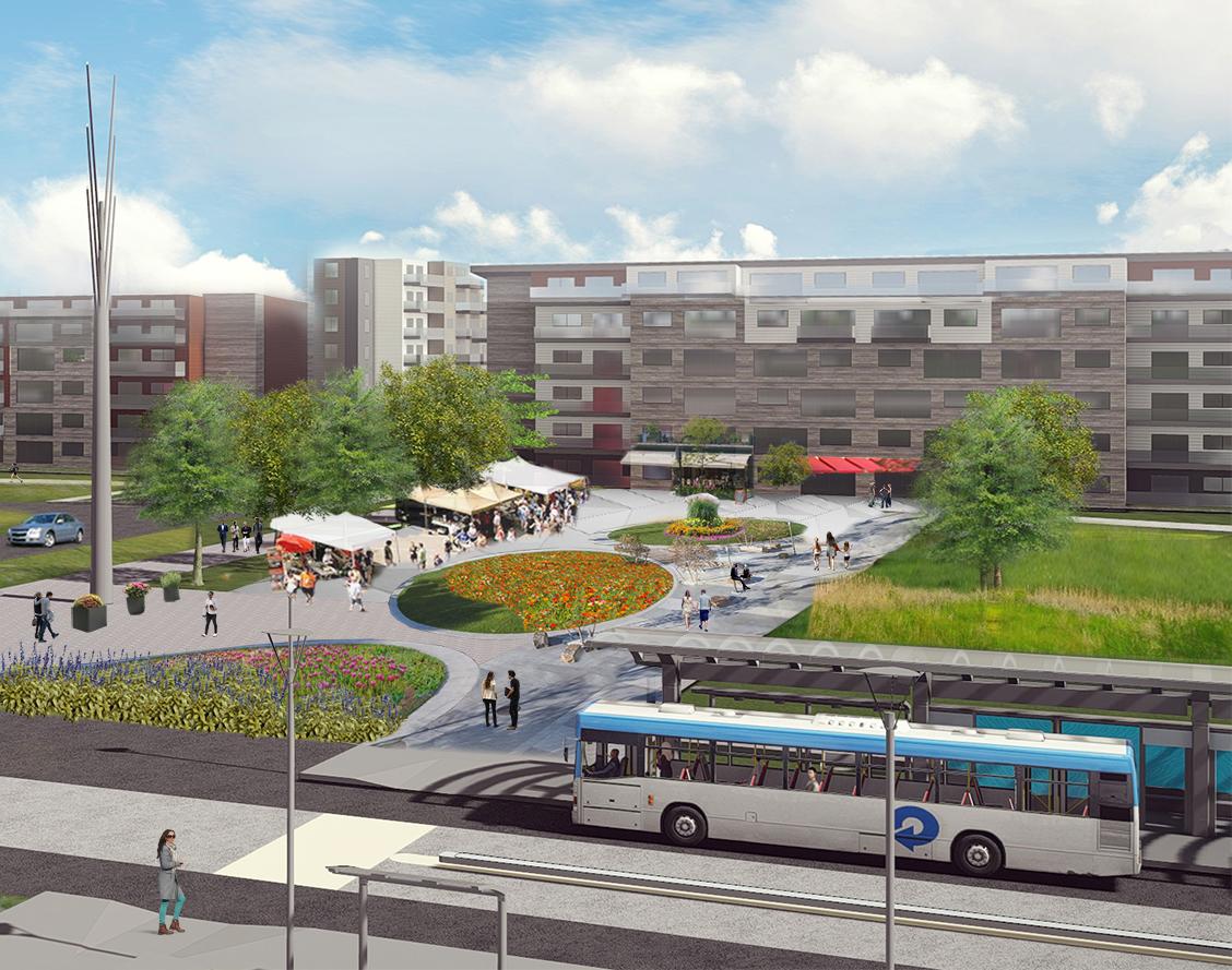 Fulton Grove - Plaza