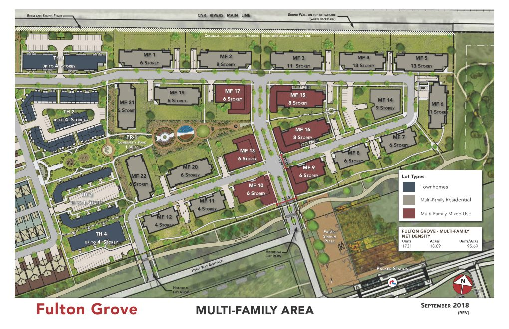 Development Plan - Multi-Family Area - Sept 2018